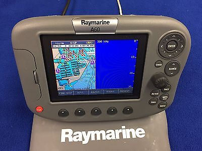 Raymarine A60 GPS Chartplotter Multi-Function Display, Tested & Warrantied