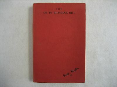 Five Go To Billycock Hill - Enid Blyton - H/C 1st 1957