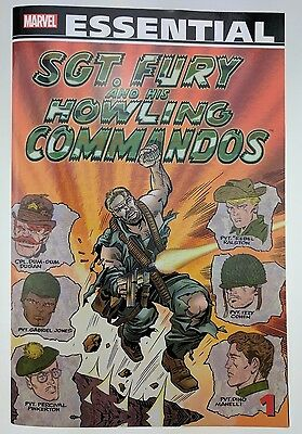 Marvel Essential Sgt Fury and His Howling Commandos Volume 1 trade paperback NEW