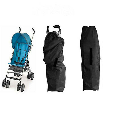Portable Kid Baby Stroller Pram Travel Storage Bag Airplane Car Gate Check Cover