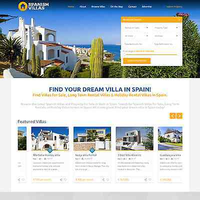 JustSpanishVillas.com - Website Business For Sale Spanish Property Villa Spain