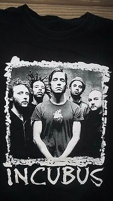 XL Cool INCUBUS Tour T-Shirt Concert Rock Roll Band
