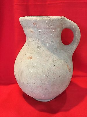 Ancient Israelite Holy Land Terracotta Spouted Jug 9-700BC excellent condition