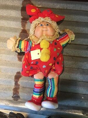 Cabbage Patch Clown Doll 1985