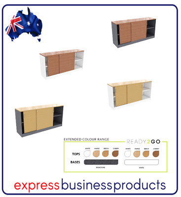 Ready 2 Go Office Credenza - Assorted Colours and Dimensions **FREE SHIPPING**