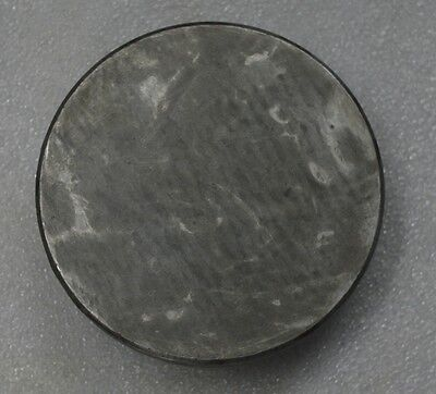 """Cast Iron Surface Plate - Hand Scrapped 6"""" Inch Round - Small Inspection Plate"""