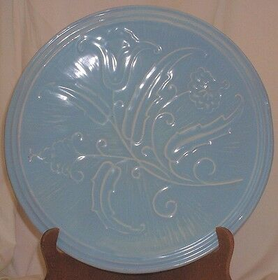 Large Camark Rare Tulip Decorated Charger