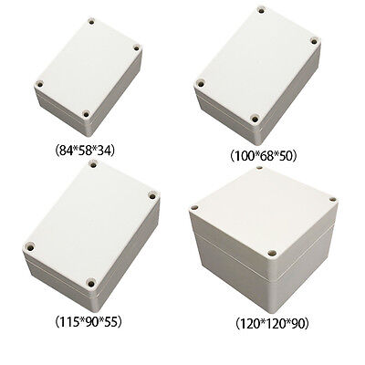 Waterproof Plastic Electrical Junction Wiring Box 120*120*90mm Connection Case