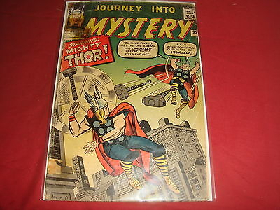 JOURNEY INTO MYSTERY #95 Mighty Thor Silver Age Marvel Comics 1963 G+/VG-