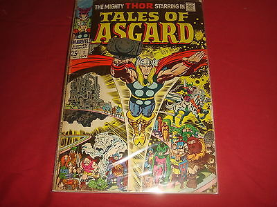 TALES OF ASGARD #1 Jack Kirby Mighty Thor Silver Age Marvel Comics 1968 VG