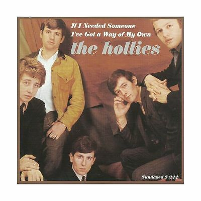 """45, 7"""" - The Hollies - If I Needed Someone - Re, 60s Beat, Mod, Beatles, Hear!"""