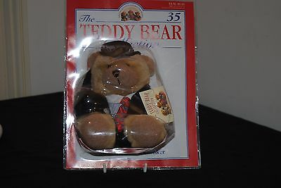 The Teddy Bear Collection - Number 35 Stanley The Stockbroker
