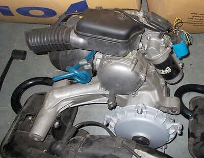 VESPA LML 150CC 5PORT COMPLETE ENGINE WITH REED VALVE, hub and exhaust