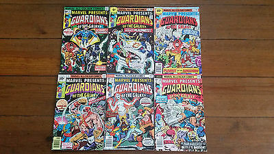 Marvel Presents: Guardians Of The Galaxy 3, 4, 5, 6, 7, 8, MARVEL, 1976