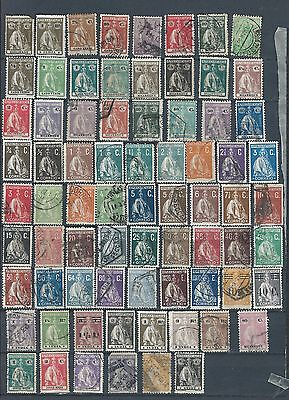 1877-1900 Spanish/portuguese Colonies/po Collection Of 74 Mint/ Vfu (4)