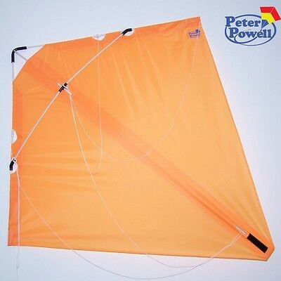 PETER POWELL Dual Line Stunt Kite MKIII ORANGE - Adults Kids Outdoor Sport Toy