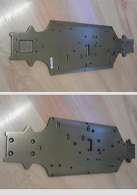 HPI/HOT BODIES 103662 VORZA FLUX 2.4GHz CHASSIS PLATE 4.0mm (7075) ALUMINIUM 1/8