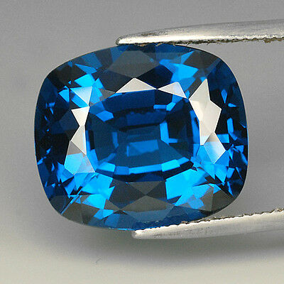 24.00 Ct. Elegant Cushion Dark Blue Color Paraiba Tourmaline Z1218