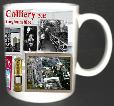 Thoresby Colliery Coal Mine Mug Limited Edition Gift Miners Nottinghamshire Pit