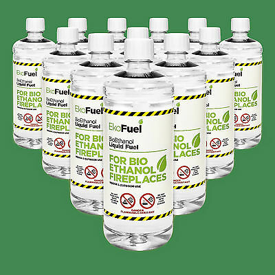BIO ETHANOL FUEL 12L FREE Delivery, New Label Same Premium Quality