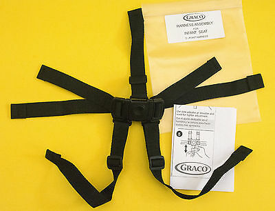 New GRACO High Chair Seat Belt Strap 5pt Harness Replacement, * Graco Made