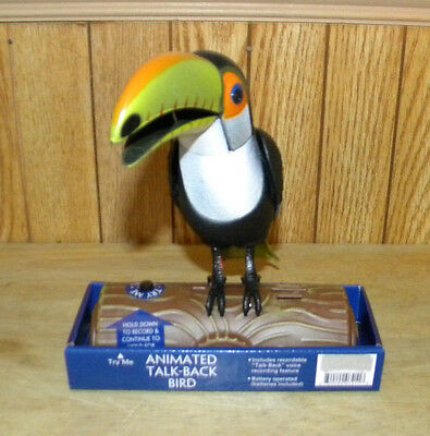 New Animated Talking Toucan Repeats What You Say
