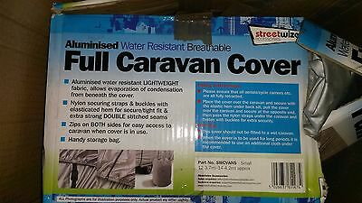 Streetwize Water Resistant Breathable Small Caravan Cover (approx 12 x 14 foot)