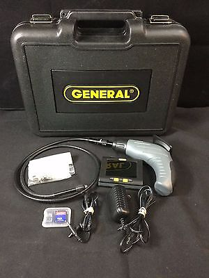General Tools Wireless Video Transmitter & Receiver w/Case - Model DCS400T