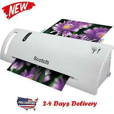 Scotch Thermal Laminator 2 Roller System Laminating Machine Fast Delivery New