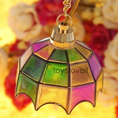 Colorful Ceiling Droplight Light Lamp for 1:12 Dollhouse Miniature Accessory