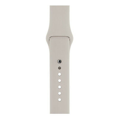 GENUINE APPLE WATCH STRAP 42mm SPORT BAND MLKY2ZM/A - Stone