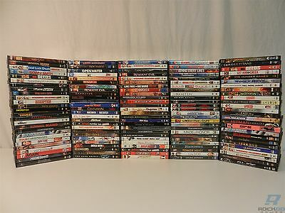 Lot of 130 DVD Movies - Resident Evil, Dark Knight, Lord of the Rings, Hot Fuzz