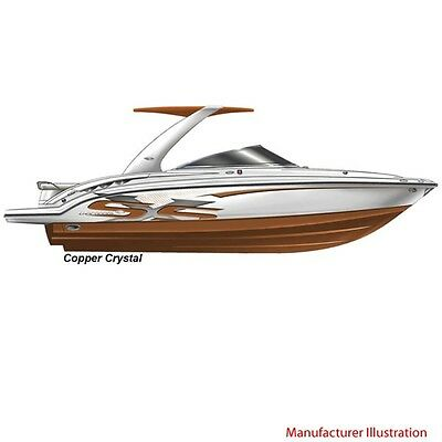 Chaparral Boat Graphic Decals | 2009 236 SSX Crystal Copper Color (Set of 4)