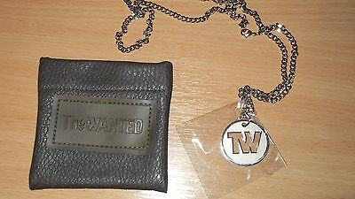 The WANTED Necklace in pouch - Official Licensed - Brand new