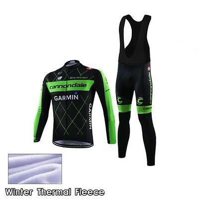 Completo Invernale/Cycling Jersey and pants Team Cannondale 2016 Thermal Winter