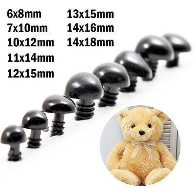 Wholesale Safety Nose Plastic Triangle Nose for Teddy Bear Animal Toy Doll R0484