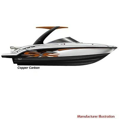 Chaparral Boat Graphic Decals | 2009 276 SSX Carbon Copper Color (Set of 4)