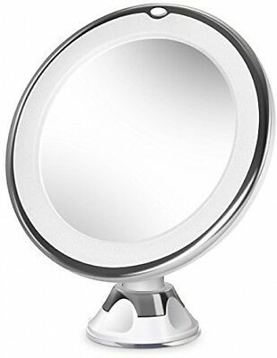 Beautural 10X Magnifying LED Lighted Vanity Makeup Mirror With Fully Adjustable