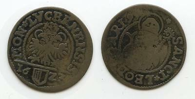 G3300 - Schweiz Luzern 1 Schilling 1923 KM#25 RAR Billon Switzerland Swiss