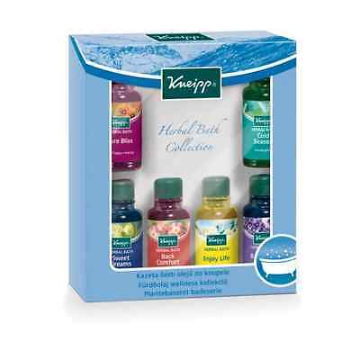 Kneipp 6 x 20ml Piece Bath Oil Herbal Bath Collection Travel Set FREE DELIVERY