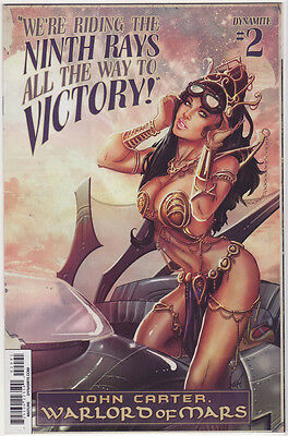 JOHN CARTER WARLORD OF MARS #2 Bombshell Variant Poulat Cover NM