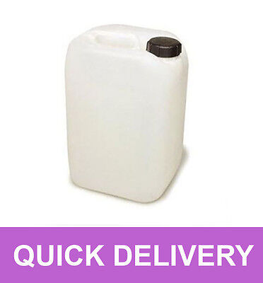 4 X 25 Litre 25L 25000Ml New Plastic Bottle Jerry Can Water Container Carrier