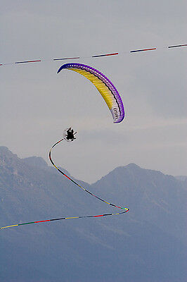 300 foot streamer for paragliders! PPG and and paragliding