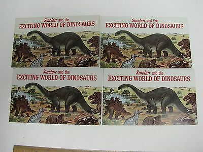 Sinclair Refining Co Dino Exciting World Of Dinosaur Worlds Fair Booklet Gas Car