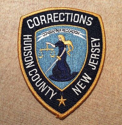 NJ Hudson County New Jersey Corrections Patch
