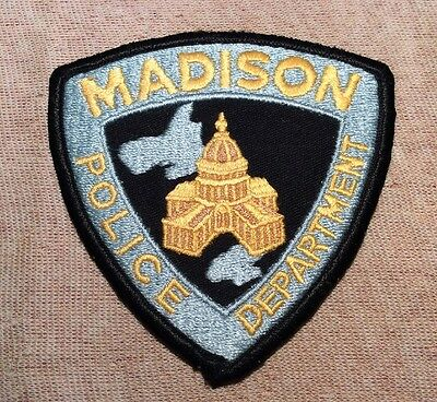WI Madison Wisconsin Police Patch