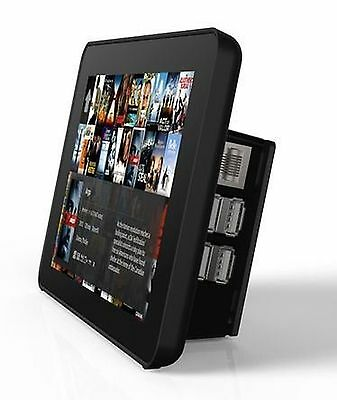 RS Raspberry Pi 7-Inch LCD Touch Screen Case Black
