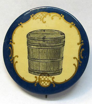 """1890's BUTTER & CHEESE MAKERS related 2""""  pinback button  *"""