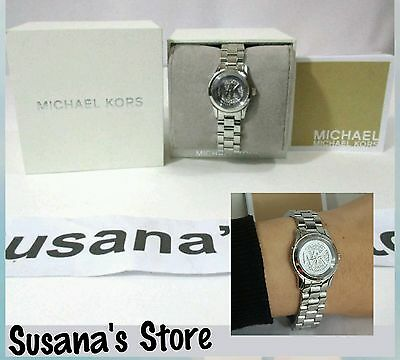 New Michael Kors Runway Silver-Tone Watch, Just gorgeous, a must have!!