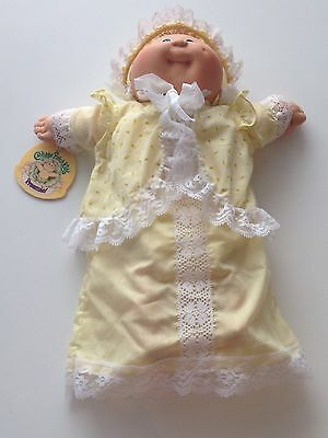 Vintage Boy Cabbage Patch Doll Preemie Yellow Outfit Diaper
